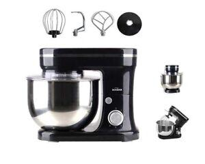 Küchenmaschine Teigrühr- und Knetmaschine Teigmaschine Rührgerät 1200 W 5 Liter