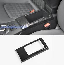 Carbon Fiber Center Console Armrest Box Frame Cover Trim For Audi A3 8V 2014-18