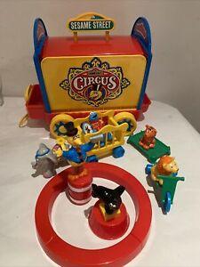 Vintage Sesame Street Circus Playset