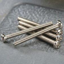 50Pcs M2 x 20mm Stainless Steel Head Screw Bolts 21g Machine Repair Tools DIY
