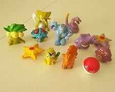 12 Pcs Pokemon Mini Pearl Figures New Hard to find Children Toy U.S seller.