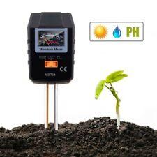 Tacklife Soil Moisture PH Light Meter Tester Sensor Tool For Garden Plant Flower