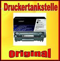 original Toner HP 12A Q2612A Laserjet 1010 1022 3015 3020 330 3050 3052 M1005