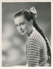 Janette Scott original 1950's studio portrait with pony tail