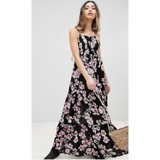INTIMATELY FREE PEOPLE GARDEN PARTY MAXI ONYX DRESS L NWT
