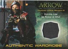 Cryptozoic Arrow Season 2 Katrina Law As Nyssa al Ghul Wardrobe Card #M14