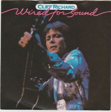 "Cliff Richard ""Wired For Sound/Hold On"" EMI1981 7"" PS"