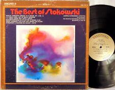 2 LPs VANGUARD Vivaldi JS Bach Mozart Stravinsky BEST OF STOKOWSKI VSD-707/8 EX+