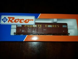 ROCO HO VAGON PAQUETE EXPRES RENFE