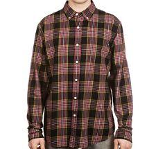 OBEY Men's BOWEN L/S Button Shirt - BLK - Medium - NWT
