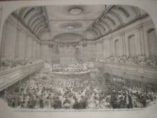 Prince Albert addresses British Association at New Music Hall Aberdeen 1859 AU