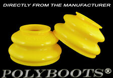 2x Polyboots Large Size Dust Boots 26x51x32 mm Tie Rod End and Ball Joint Boots
