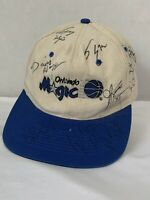 Vintage NBA Orlando Magic Snapback Hat Cap Autographed 1995-1996