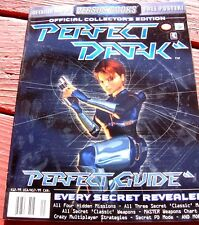 PERFECT DARK Nintendo 64 Lösungsbuch Versus Books Guide Collectors Edition