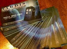 Tardis Frequent Flier Business Cards - Set Of 50 Doctor Who