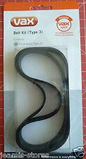 060 POWER 5//6 autentico Kit cinghia tipo 3 Vax Cintura v006 Pacco da 2