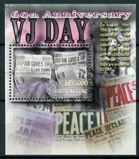 Sierra Leone 2005 MNH WWII WW2 VJ Day 60th Anniv World War II 1v S/S Stamps