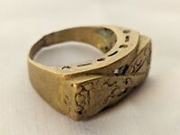 Ancient Ring Bronze Vintage-Antique Roman Old Artifact Very Extremely Rare Type