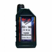 Olio Trasmissione Lubrocar JD80 10W30 frizioni bagno d'olio - 3 litri lt