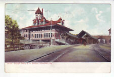 Allentown Pennsylvania Lehigh Valley Rail Road Station posted 1907