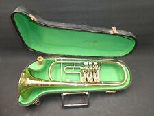 ältere Trompete mit Mundstück im Koffer - Luxton WGL HANDMADE