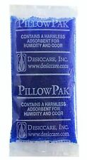 "150 Pack of 10gm ""Pillow Paks"" Blue to Pink Indicating Silica Gel Packets Des..."