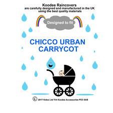 koodee uk Raincover To fit CHICCO URBAN CARRYCOT BNIP