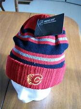 CALGARY FLAMES MENS RED LICENSED TOQUE NEW W/ TAGS