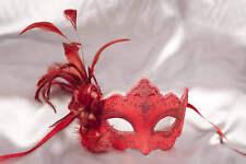Feathered Masquerade Masks - Masks for Women - Daniela Plain
