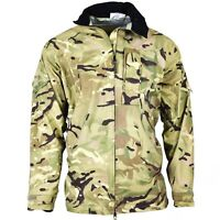Original British army military combat MTP camo rain jacket waterproof goretex