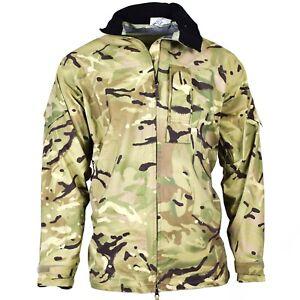 Original British army military combat MTP camo rain jacket waterproof goretex