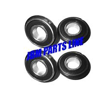 "Go Kart Bearings 1-3/8"" Od 5/8"" Id, 499502H C-Clip Wheel Hubs, Wheels, Set of 4"
