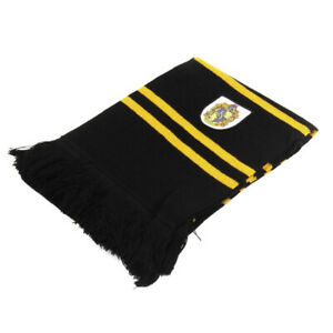 New Harryy Potter Slytherin Thicken Knit Scarf Wrap Soft Warm Costume Cosplay