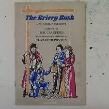 THE BRIERY BUSH elizabeth poston , vocal score