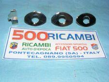 FIAT 600 SCRITTA ABARTH 1000 TC CROMATA FREGIO SCOMPONIBILE 1000 METALLO CROMATO