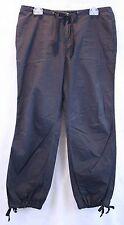 Calvin Klein Jeans Ladies Black Cotton Harem Style Pants EUC SZ 8