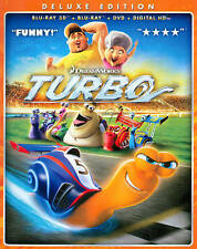 Turbo 3D Deluxe Edition w/Slipcover Blu-ray.  new free shipping