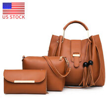 Women Leather Bags Purse Tote Bag Handbag Lady Shoulder Messenger Satchel Bag