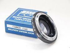 Jessops Canon FD to EF Body Mount Adapter with Glass. Stock No U11969