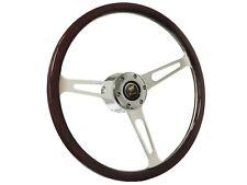 1978 - 1991 Ford Bronco S6 Classic Espresso Wood Steering Wheel Kit