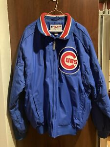 Chicago Cubs Mens Authentic Majestic Jacket Size XL