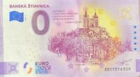 BILLET 0  EURO BANSKA STIAVNICA SLOVAQUIE ANNIVERSARY 2020 NUMERO DIVERS