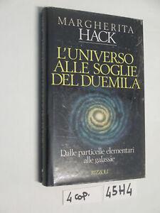 Hack L'UNIVERSO ALLE SOGLIE DEL DUEMILA (45H4)
