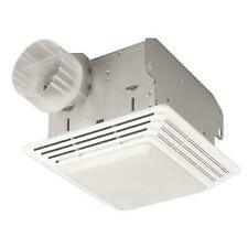 Broan 678 50 CFM Bathroom Exhaust Fan with Light  - White