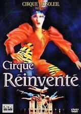 Dvd  CIRQUE REINVENTE'  ***Cirque Du Soleil*** ......NUOVO