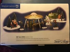 """Department 56 Snow Village """"2001 SPACE ODDITY"""" #55118 Issued 2000 -Retired 2001"""