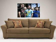 """A DAY TO REMEMBER MOSAIC 35""""X25"""" WALL POSTER METALCORE"""