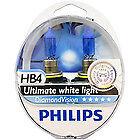 Philips HB4 visión 5000k Bombillas Coche Faros De Diamante HB4 Diamante visión HB3 9006