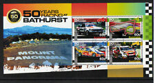 AUSTRALIA 2012 CAR RACING AT BATHURST MINIATURE SHEET FINE USED