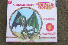 GRENADIER MODELS  FANTASY LORDS,DRAGONS OF THE EMERALD IDOL,  BOX SET  #6001